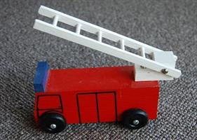 Brannbil med stige