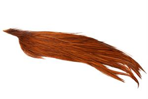 Whiting Silver 1/2 Cape - Dyed Natural Brown