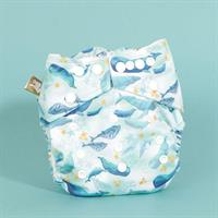 Little Lamb Lomme tøybleie One Size ♥Under the sea