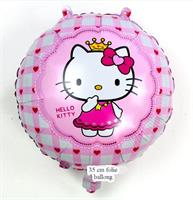 Hello Kitty folie Ballong Rosa