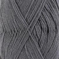 Baby alpaca silk - mellomgrå, 50 gr