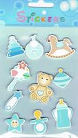 Stickers BABY TEDDY (tre)
