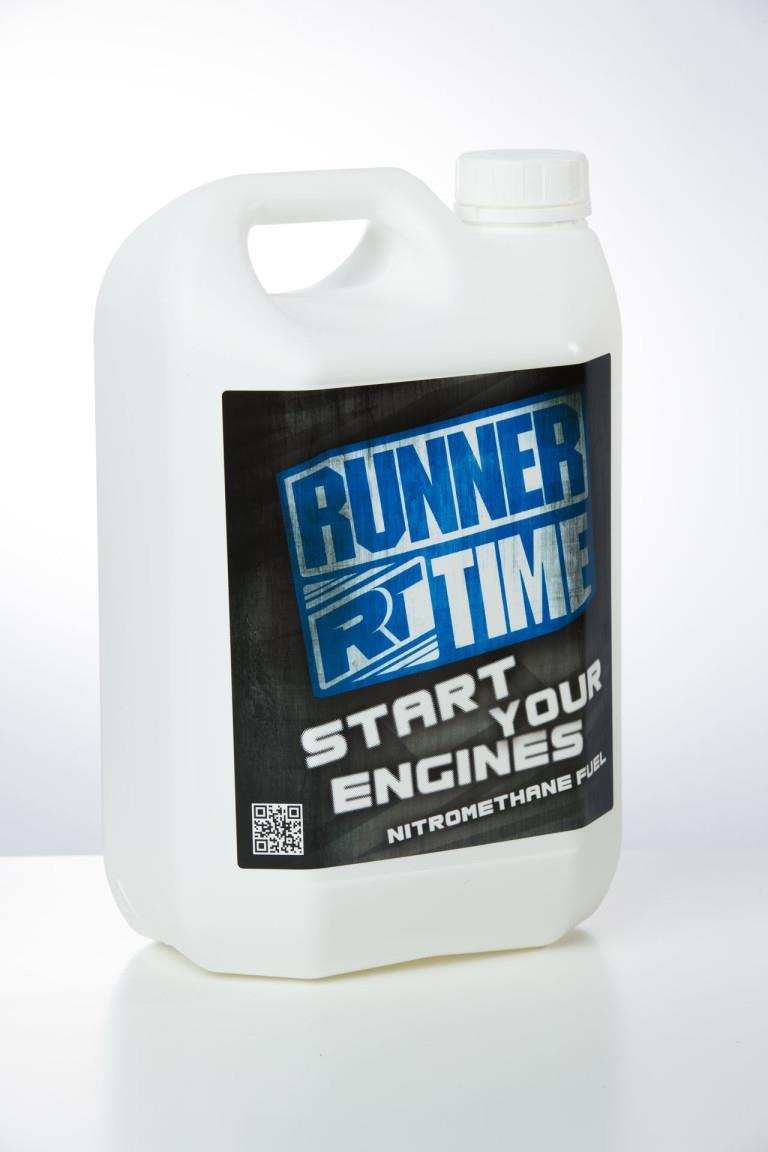 RUNNER TIME - TOP 25% - 5 liters x4