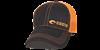 Costa Neon Trucker Offset Logo Hat - Neon Orange