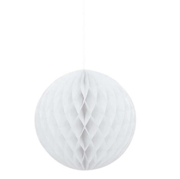 15 cm Hvit Honeycombs