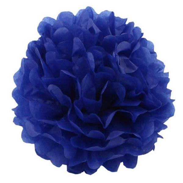 Pom Poms - Dark Blue 20 cm