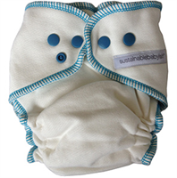 Sustainablebabyish|sloomb♥tm Bambus NATT Teal