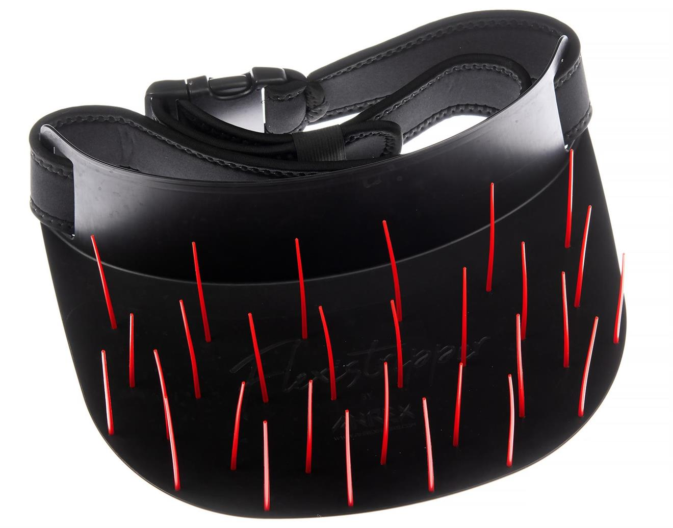 Ahrex Flexistripper - BLACK with Red Pegs w/125 cm/50 inches
