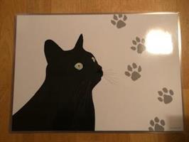 Bordstablett Svarta Katten