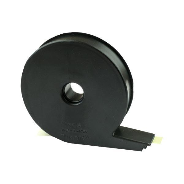Plast dispenser for klistrelapper