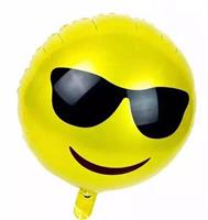 Folie - Emoji happy sunny day balloon