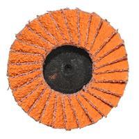 Norton Orange Flapdisc Roloc 50mm P36