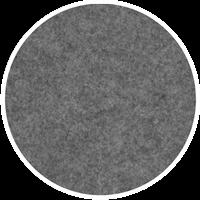 Sound off EcoSUND® väggabs. Ø1400x5 cm mellangrå