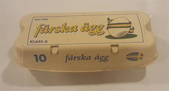 Äggkrt 10-p Färska vit 188 st
