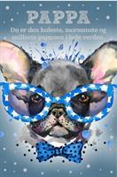 Farsdagskort - Hund med briller