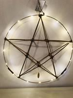 Unik Bambus stjerne med ring - Begrensede mengder