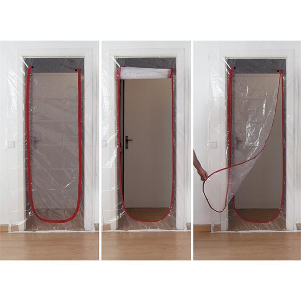 Täckplast Dörr