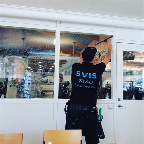 fönsterputs hos företagskund