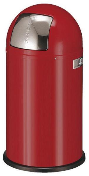 Avfallsbeholder Wesco, 50l Rød