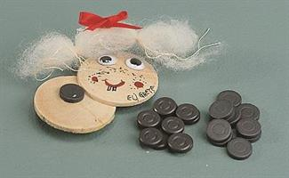 Magneter, Ø 15mm