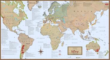 Vinkart - Verden