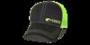 Costa Neon Trucker Offset Logo Hat - Neon Green