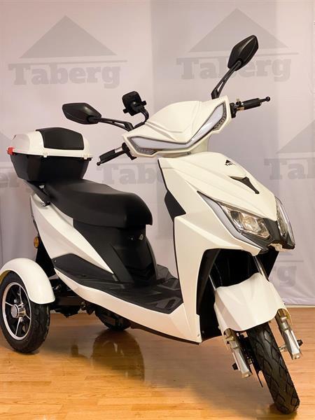 Taberg DDT085 promenadscooter vit litiumbatteri