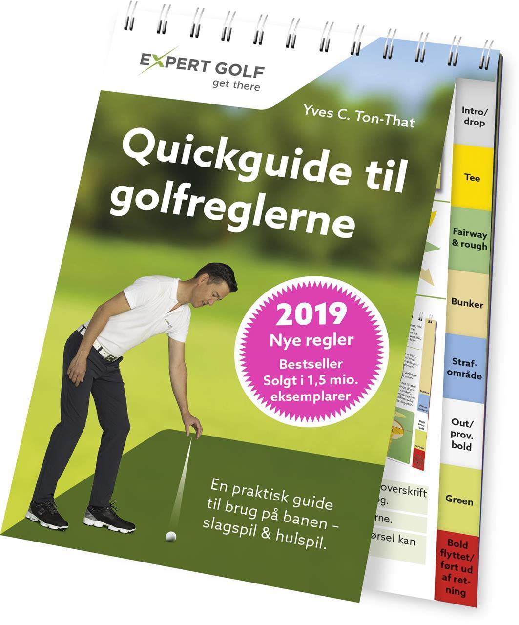 Golfregelbok Quickguide til golfreglene fra 2019