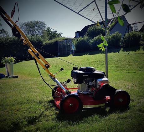 SVIS städ gräsklippning