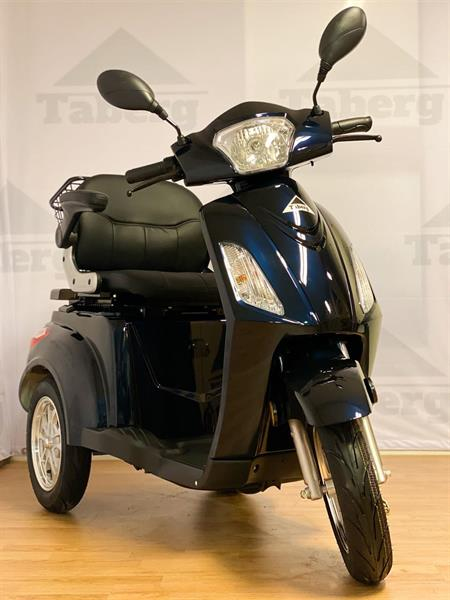 Taberg T408-1 promenadscooter mörkblå
