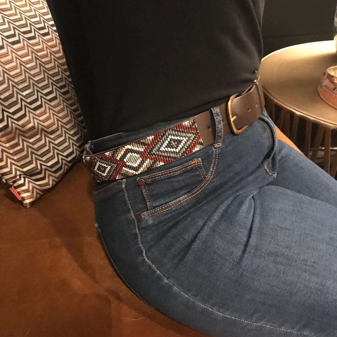 Belte Tatu brun