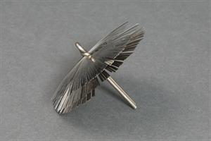 Pipstålsviska gaffelfäste 140mm