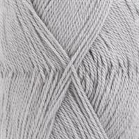 Baby alpaca silk - lys grå, 50 gr