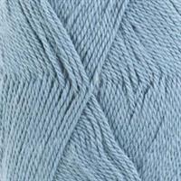 Baby alpaca silk - gråblå, 50 gr