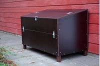 Förvaringslåda i trä för utebruk Marinplywood