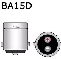 6 volts glödlampa 15w 2-polig 1 tråd