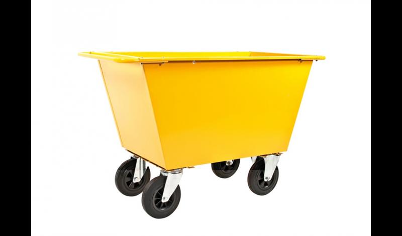Avfallsvogn | Massive Hjul | 400L