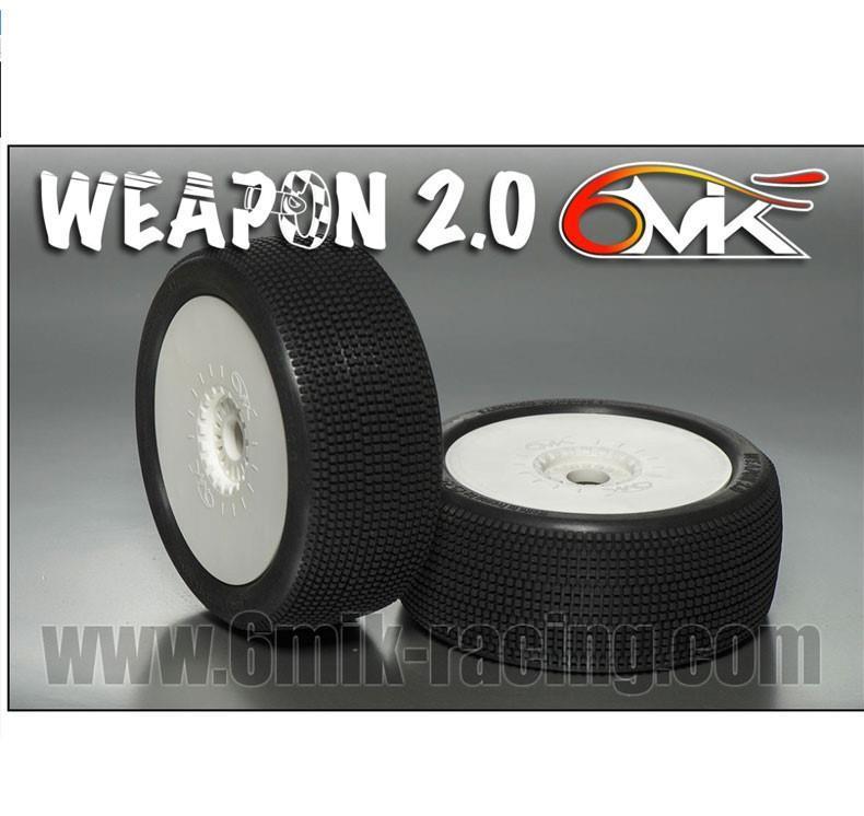 "6MIK - ""Weapon 2.0"" Däck ""Grön"" 1:8"