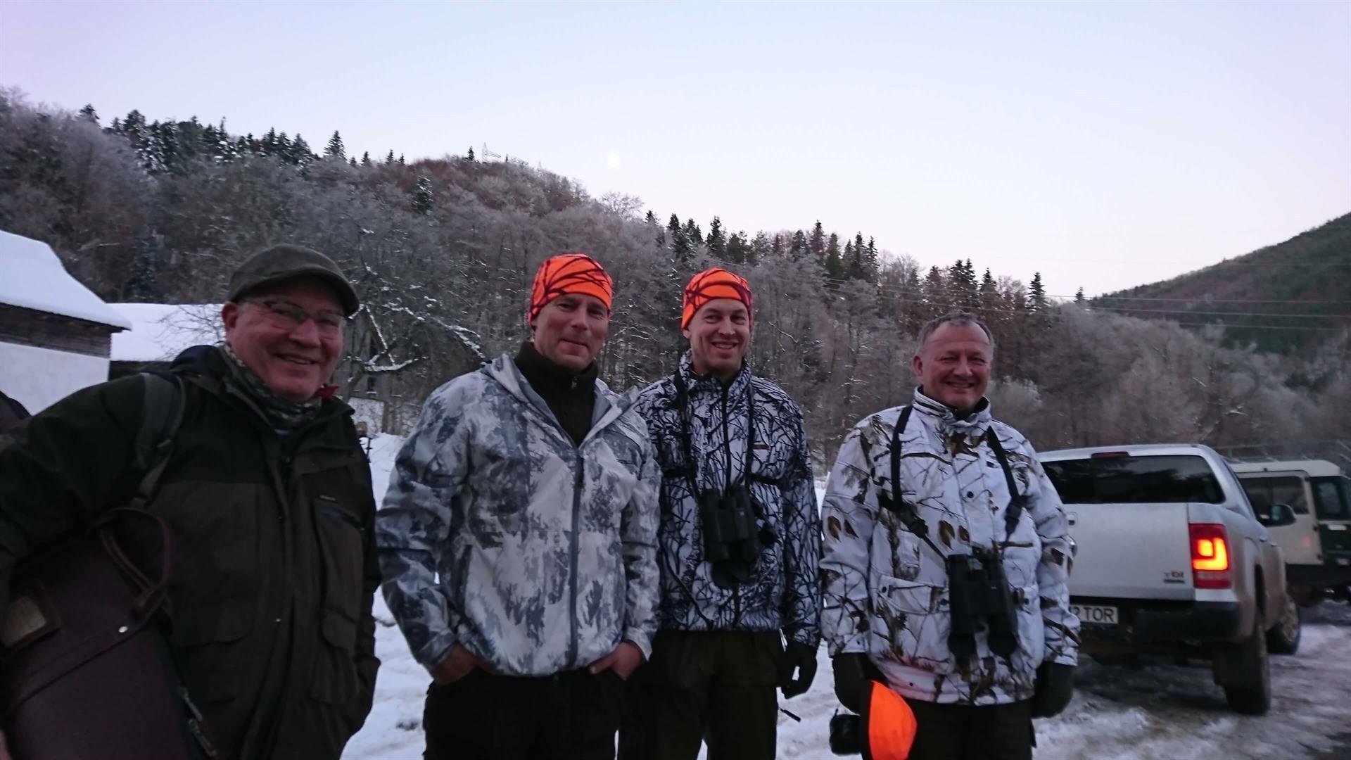 Romanian metsästysmatkat