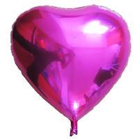 Folie Hjerte Ballong 32 cm Lilla