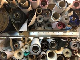 Vinyl i olika färger