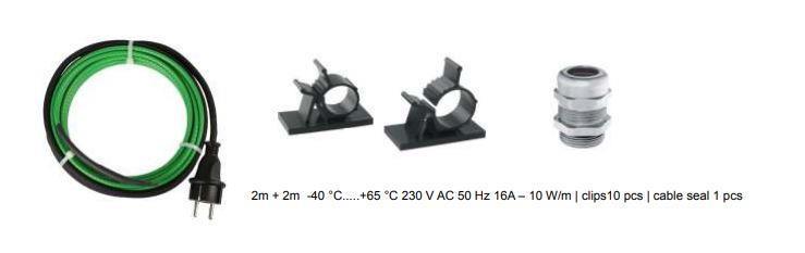 Lämmityskaapelipaketti | Värme element | Heat Element