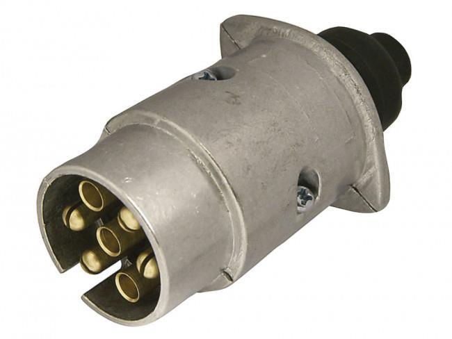 Stickpropp 7-Polig 12V Silver Metall