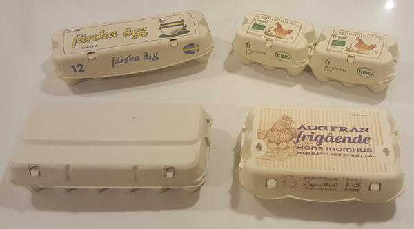 Äggförpackningar