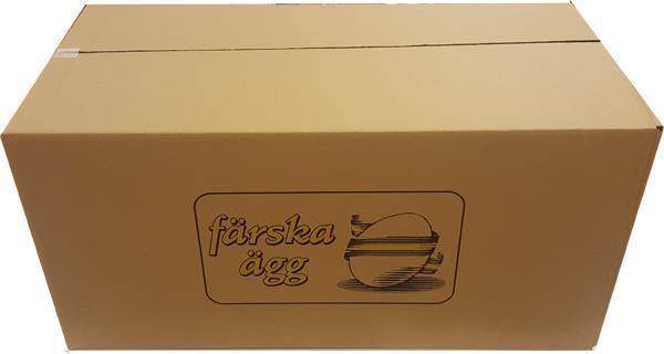 Äggytterkrt 300 ägg brun 25 st