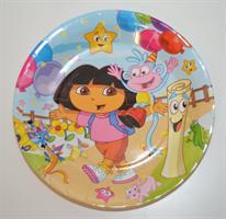 Papptallerken - Dora