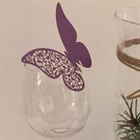 Bordkort - Lilla Sommerfugl