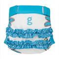 gDiapers gDiapers Girly Twirly Blue gPants L