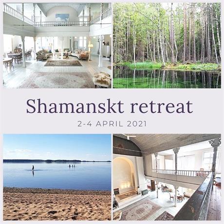 2-4 april dags för ett Shamanskt retreat utanför Uppsala.