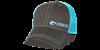 Costa Neon Trucker Offset Logo Hat - Neon Blue